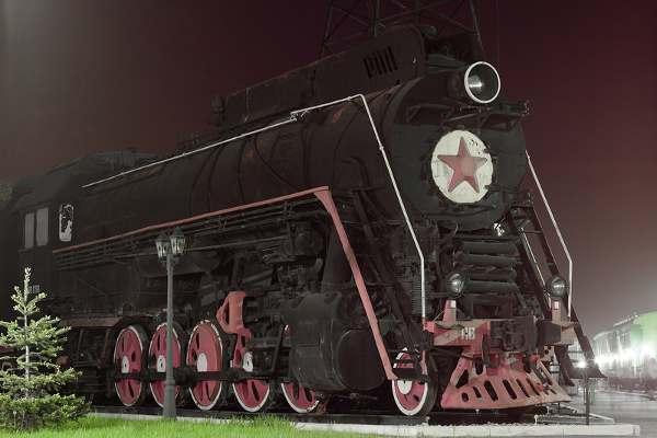 самара музей железнодорожной техники