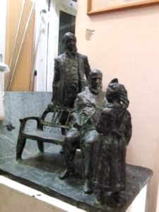 Эскиз скульптуры Аленький цветочек в Самаре