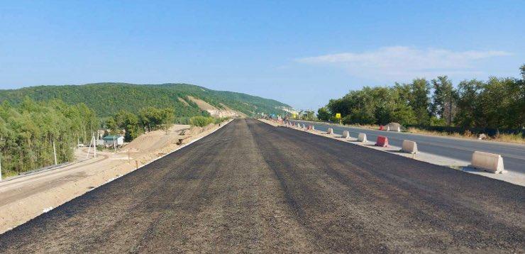 место строительство моста через Сок в Самаре