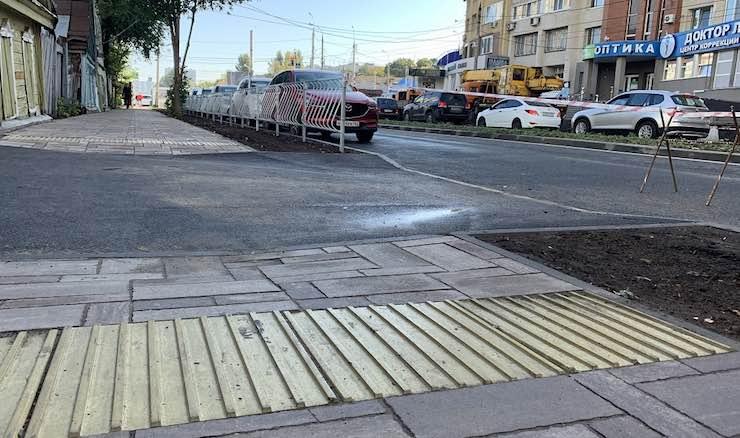 Отремонтированная улица ленинская в Самаре