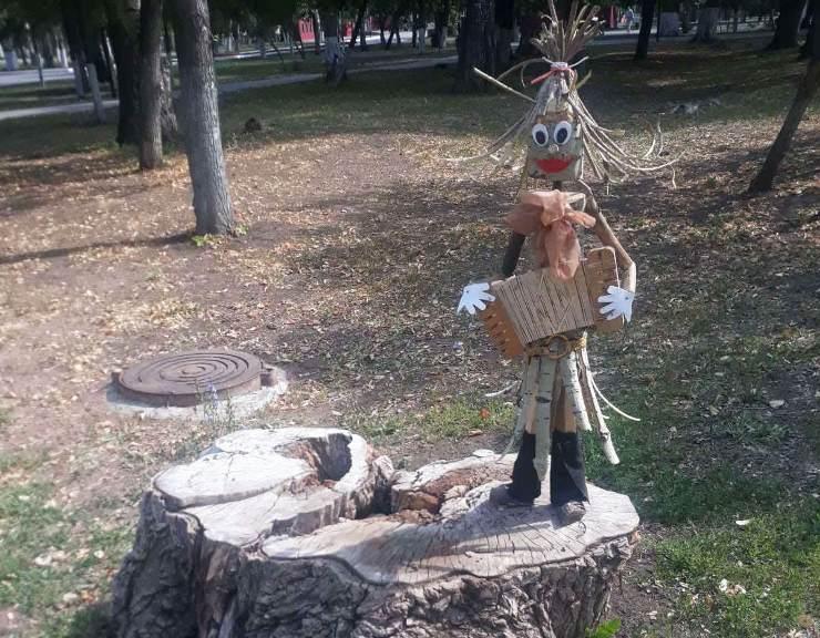 Лесной человечек в парке Победы в Самаре