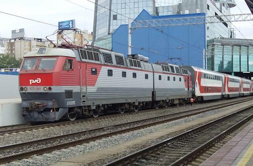 поезд на самарском вокзале