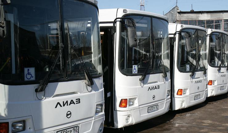 Автобусы ЛИАЗ в Самаре