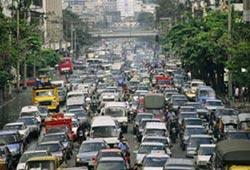 Пробки на дорогах мегаполисов