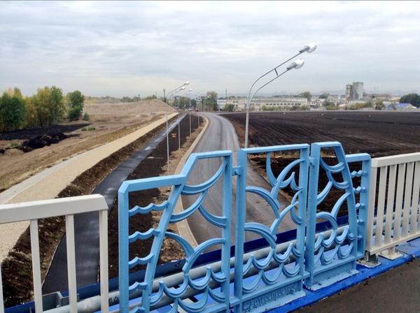Мостовой переход планируется