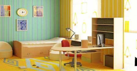 Дизайн для подростковой комнаты